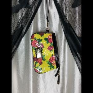 Betsey Johnson Sequined Wristlet Bag